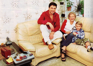 фото владимир политов и его жена